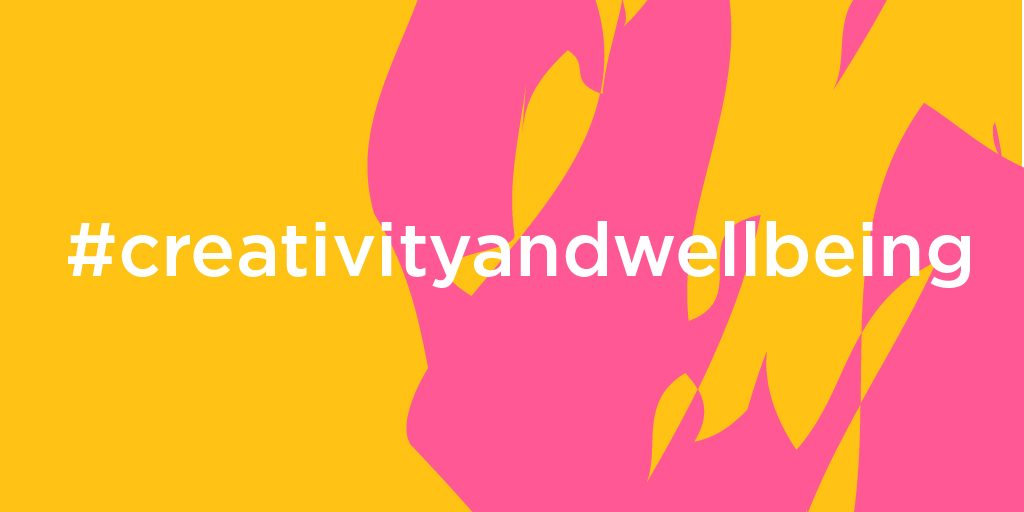 Creativity and Wellbeing Week graphic